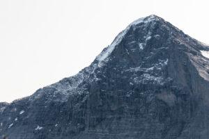 Switzerland, Canton Bern, Bernese Oberland, Grindelwald, Eiger, north face, Mittellegigrat