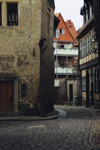 Ein Spaziergang durch Quedlinburg im August,