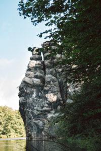 Teutoburger Wald rund um die Externsteine in Horn-Bad Meinberg, Nordrhein-Westfalen, Deutschland