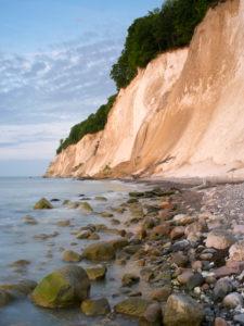 Chalk coast on Rügen, national park Jasmund, Mecklenburg-West Pomerania, Germany