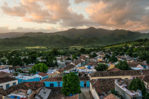 Trinidad, colourful houses and narrow lanes, Cuban place of interest, colonial town, Sierra del Escambray, colourful houses and narrow lanes