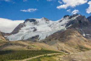 Glacier Rocky Mountains, Columbia Icefield, Canada