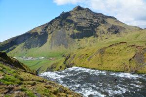 The beautiful Waterfall of South-Iceland, Seljalandsfoss