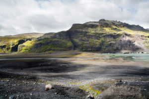 Iceland majestic glaciers during the summer