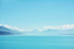 Mount Cook and Lake Pukaki, South Island, New Zealand