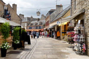 Old town of Ville Close, Concarneau, Finistere, Brittany, France