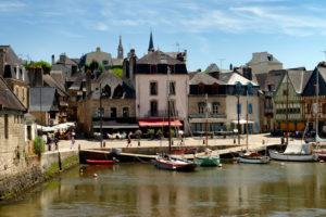 Harbour of Saint Goustan, Departement Morbihan, Brittany, France