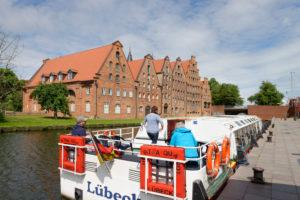 Historic salt storage in the old town of Lübeck, UNESCO World Heritage, Lübeck, Schleswig-Holstein, Germany