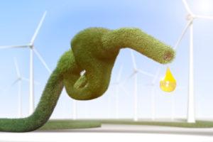 3d, CGI, [M], symbol, energy, petrol, fuel, wind energy, wind turbines, fuel nozzle,