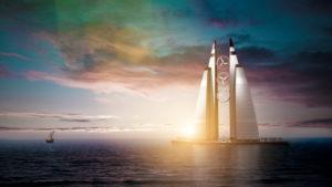 3d, CGI, [M], symbol, architecture, power generation, wind plant,