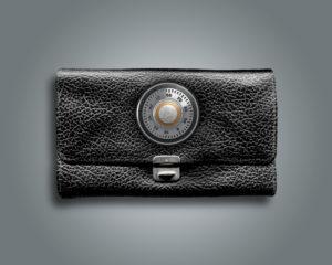 3d, CGI, [M], symbol, purse, protection, combination lock, money, finances,