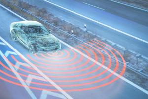 Street, car, Polygon-Grid, autonomic driving, CGI, 3D, [M], Composing, unbranded