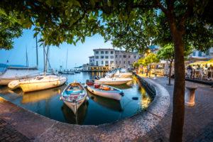 Gargnano, harbour