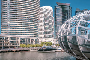 Australien, Melbourne, Docklands