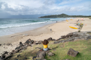 Australia, Byron Bay, beach