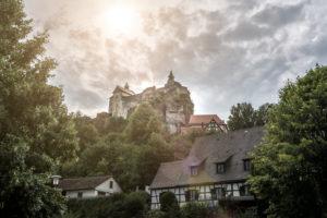 Burg Hohenstein in Franken