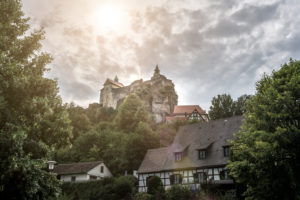 Castle Hohenstein in Franconia