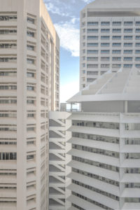 Australien, Brisbane, Hochhäuser, Fassaden, Fenster