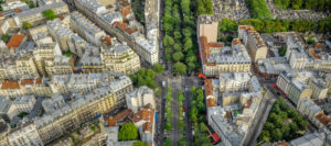 Paris panorama, France