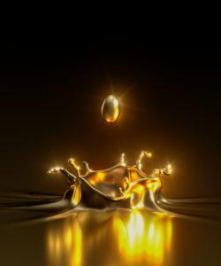 Gold Splash, CGI