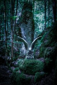 Mystik, Engel im Wald, CGI