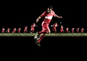 Yildiray Bastürk, soccer player, action,