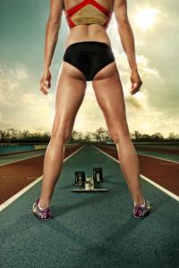 Verena Sailer, Sprinterin, Leichtathletin, 100m-Läuferin,