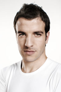 Rafael van Vaart, portrait, soccer player,