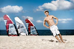 Germany, Sylt, Florian Jung, wind surfer, storm,
