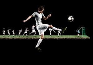 Tomas Rosicky, portrait, soccer player, Jens Lehmann, goalkeeper,