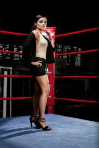 Susianna Kentikian, boxer, Hamburg, boxing ring,