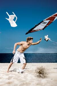 Deutschland, Sylt, Florian Jung, Windsurfer, Sturm,