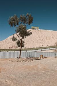 Aussichtsplattform in Coober Pedy, Outback Australien