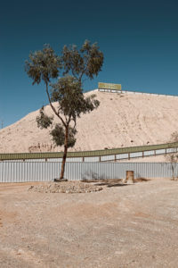 Observation deck in Coober Pedy, Outback Australia