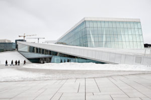 Opera-house in Oslo, Norway