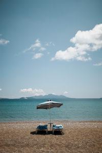 Strand auf der Insel Kos, Griechenland,
