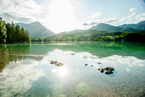 View over the Walchensee, Bavaria, Germany