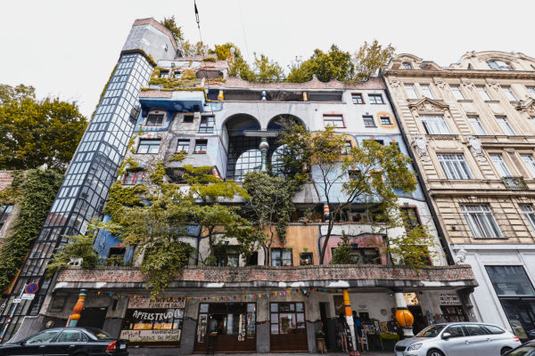 Vienna, Austria, Europe, Hundertwasser House