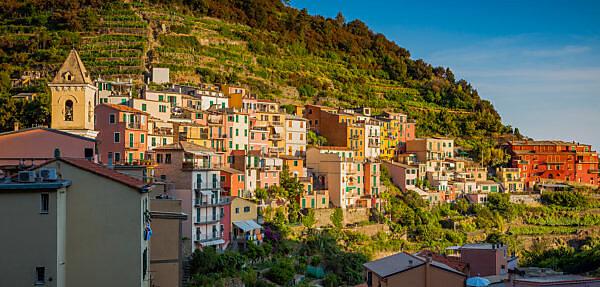Europe, Italy, Cinque Terre, Manarola,