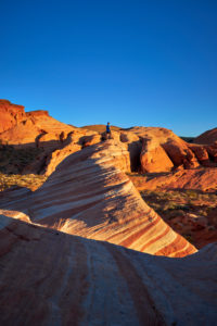 USA, United States of America, Nevada, Valley of Fire, National Park, Fire Wave Trail, Sierra Nevada, California