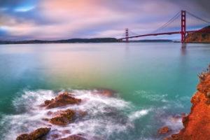 USA, United States of America, San Francisco, Golden Gate Bridge, Bay Area, California,