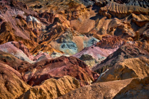 USA, United States of America, Nevada,  Death Valley National Park, Artists Palette, Artist Drive, Sierra Nevada, California