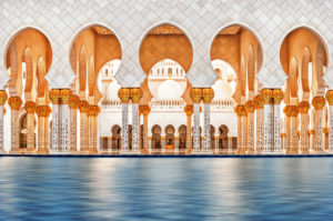 United Arab Emirates, Abu Dhabi, Grand Sheikh Zayed Mosque, Middle East,