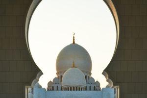 Abu Dhabi, UAE, Emirates, United Arab Emirates, Africa, Middle East, Grand Sheikh Zayed Mosque, Center Dome,