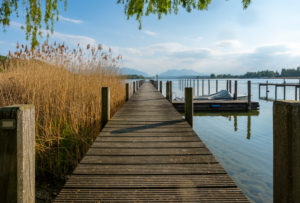 Europe, Germany, Bavaria, Breitbrunn, Chiemsee, Chiemgau, Chiemsee Lake, Breitbrunn Sailing Club,