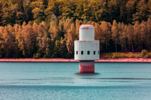 Europe, Bavaria, Bavarian Forest, National Park, Trinkwassertalsprerre, Frauenau, Water Reservoir, Tower