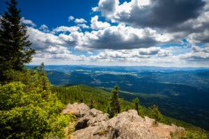 Europe, Germany, Bavaria, Bavarian Forest, National Park, Mountain Peak