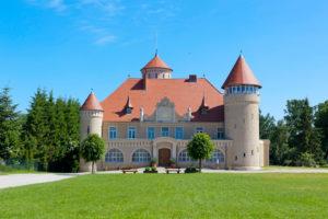 Stolpe Castle, Usedom Island, Mecklenburg-West Pomerania, Germany,