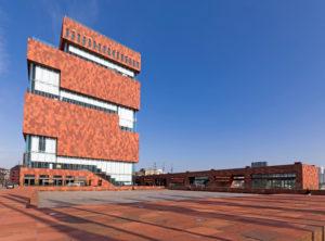 Museum aan de Stroom (MAS) in the harbour city of Antwerp, Belgium