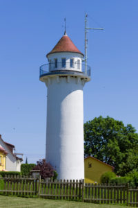 Usedom pilot tower, Karnin, Mecklenburg-Western Pomerania, Germany